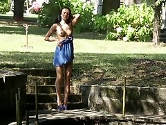 Beautiful babe in blue - Sapphira A