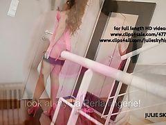 shoot laperla lingerie stockings...