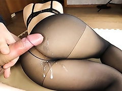 xhamster The perfect booty in nylon...
