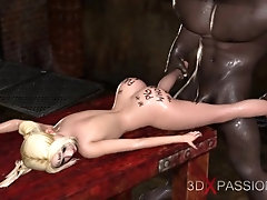 Fuck me on the table! Black man...
