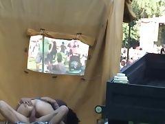 Public fucking at music festival