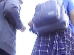 xhamster Upskirt a colegiala con sorpresa...