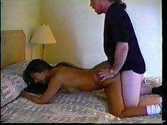 young pussy doggied fucked by...