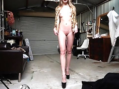 Fucked by Daddy in the garage!