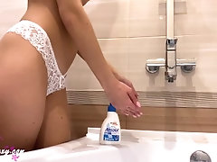 Sweety Babe Washing Hands and...