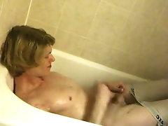 18 year old Piss Jerk Off in...