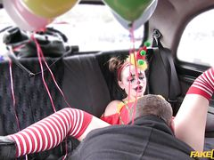 Sexy Clown Needs A Ride And Some...