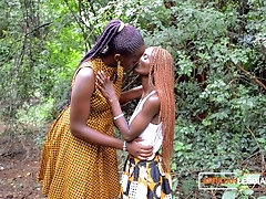 African Stepmom Teaching Horny...