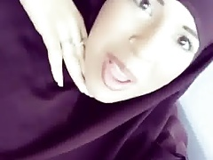 Hijabi french beurette teen...