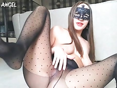 RIPPED PANTYHOSE RIPPED CREAM...