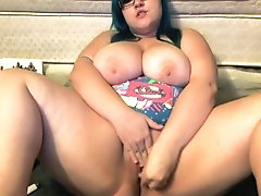 Teen BBW Jerk off Encouragement
