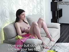xhamster Masturbation of virgin Aurore