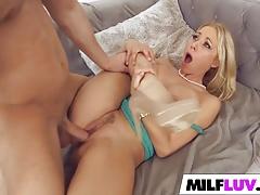 Kinky blonde MILF Katie Morgan