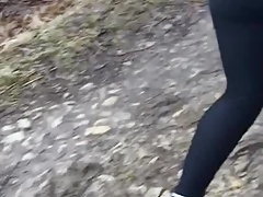 Jogging with a friend