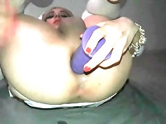 Sissy Sloppy Anal and Gaping...