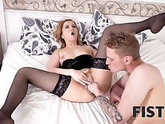 FIST4K Tongue and cock warm girl...