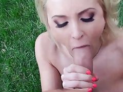 Great POV cock sucking with Alix...