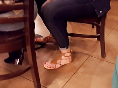 xhamster candid teen sexy long red toes,...