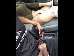Outdoot sex in car