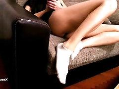 Super Dirty White Ankle Socks...