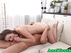 Eurobabe beauty asspounded from...