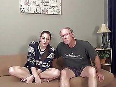 Daddy Fucks Naughty Slut