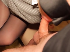 Amateur StepSis Blowjob Oral...