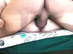 I cum in her ass closeup