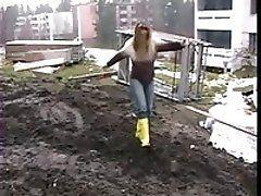 Krista yellow boots