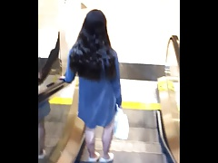 Skinny 18yo Tean in Jiggly Dress