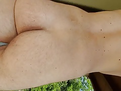Culo cam nude on balcony