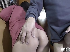 Huge cock fucks my ass and makes...