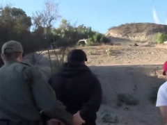 Border patrol fucking two hot girls