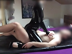 xhamster PERFECT LATEX RUBBING AND...