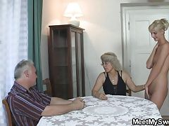 She gets lured into 3some by his...