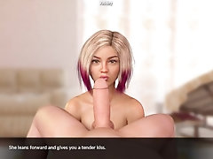 Blossoming Love - Spanking a bad...