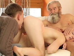 DADDY4K. Boy and his bearded...