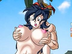 Dragon Ball Dragon Girl X Part 7...