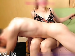 Mom punished son by spanking him...