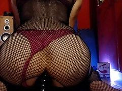 sissy femboy enjoying big dildo...