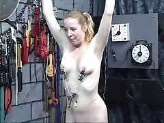 Sexy bdsm victim with perky tits...