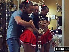 TEENFIDELITY Cute Cheerleader...