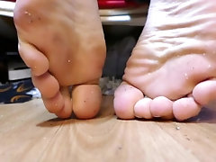 Admire my dirty feet from the...