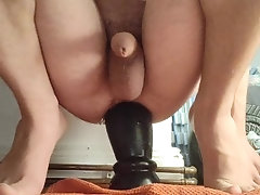 Inserting my enormous 9,5cm Anal...