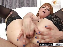 Penny gets her tight asshole...