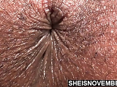 Closeup Fat Ass Hairy Sphincter...