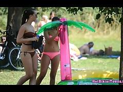 Sexy Bikini babes Hot Thong...