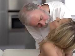 OLD4K. Hot tea and sensual sex...