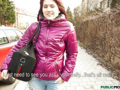 Shy Czech Lucie Offered Cash To...
