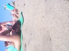 Candid teen Feet and toes at the...